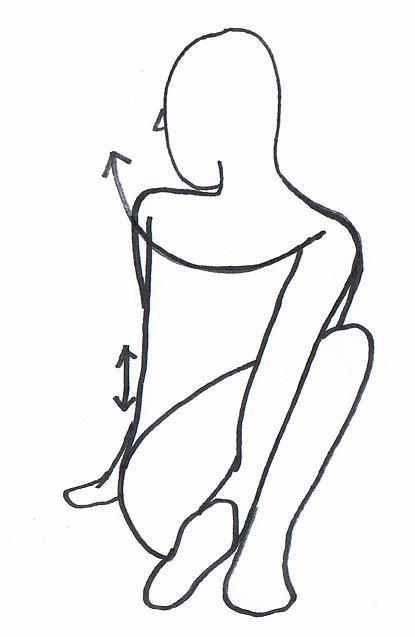 首・背中・腰のストレッチ | 養生のススメ | よもぎ鍼灸院