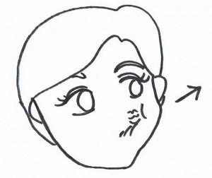 顔の体操4